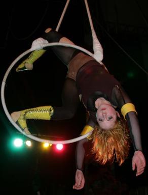 'Puppet' Aerial Hoop