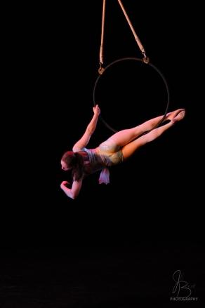 'MoonDance' Aerial Hoop